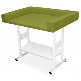 Csecsemővizsgáló asztal (alsó polccal)