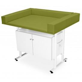 Csecsemő vizsgáló asztal (szekrénnyel)
