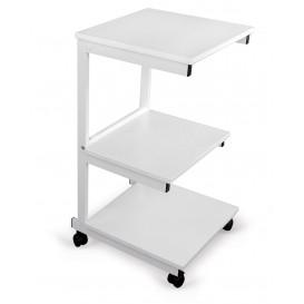 Alumínium asztal: 3 polc