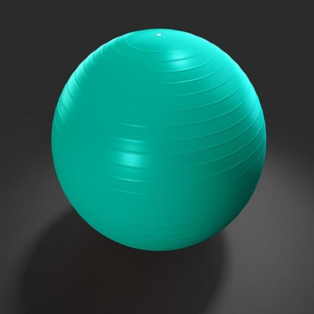 Gimnasztikai labda 65 cm (zöld)