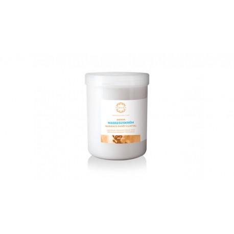 Yamuna Zsíros Masszírozó krém (narancs-fahéjas) - 1000 ml