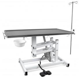 Állatorvosi Asztal J-VET 1 MAX E (nagyobb tálca, elektromos állításnál)