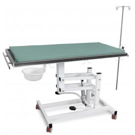 Állatorvosi Asztal J-VET 1 H K (hidraulikus állításnál, kerekek)