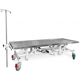 Állatorvosi Asztal GOLIAT SLVR (hidraulikus állításnál, kerekek)