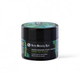 Nappali Hidratáló Arckrém - Zöld Tea és Aloe Vera - 50ml
