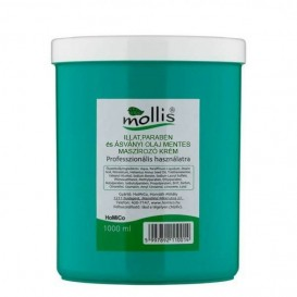 Illatmentes Mollis masszázskrém 1000 ml