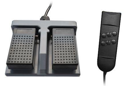Lábbal irányítható távirányító és kézi távirányító (+17,000 Ft)